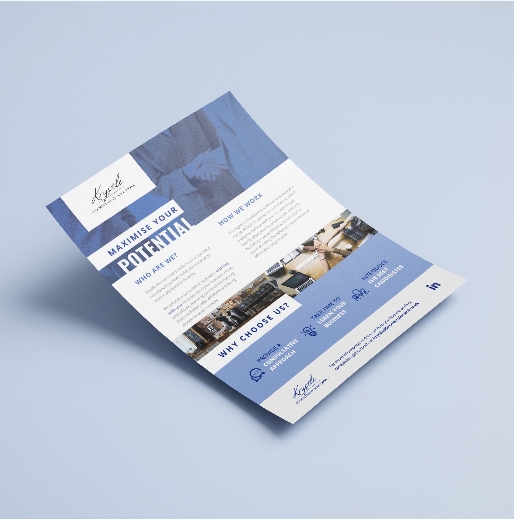 Krystle Recruitment Solutions Leaflet