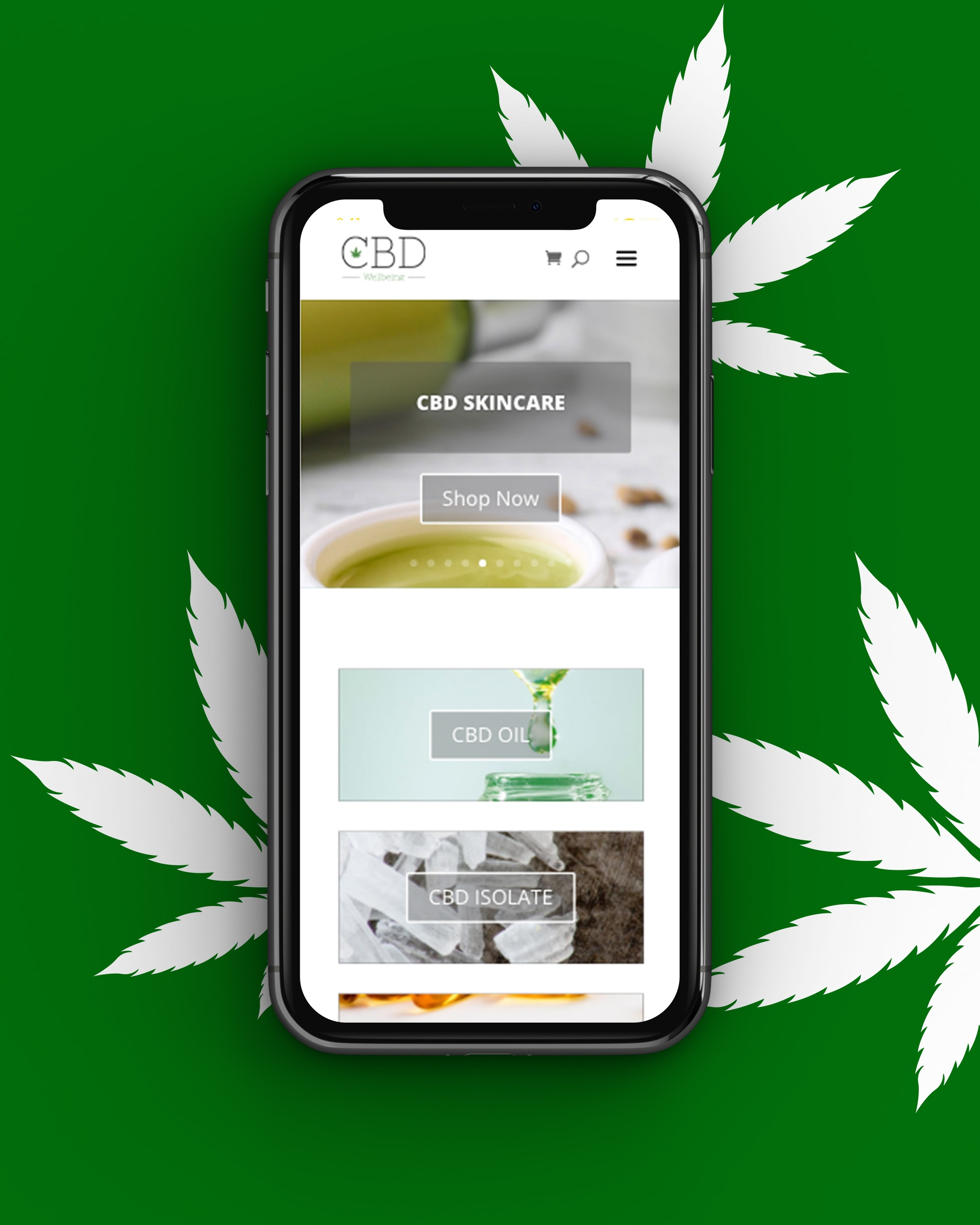 Front-iPhone-CBD-Oil-Home
