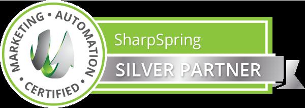 SharpSpring-ribbon_silver